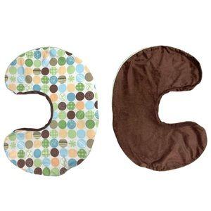🆕 Boppy Pillow 2 Sided Slipcover Plush & Pattern
